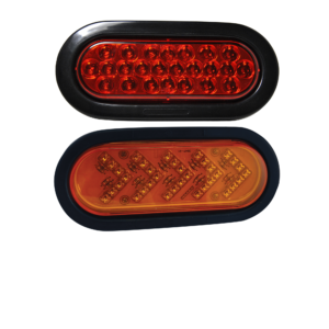 Oval LED Warning Lights