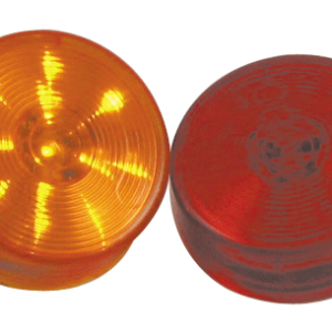 "2.5"" Round Clearance Marker Red/Amber"